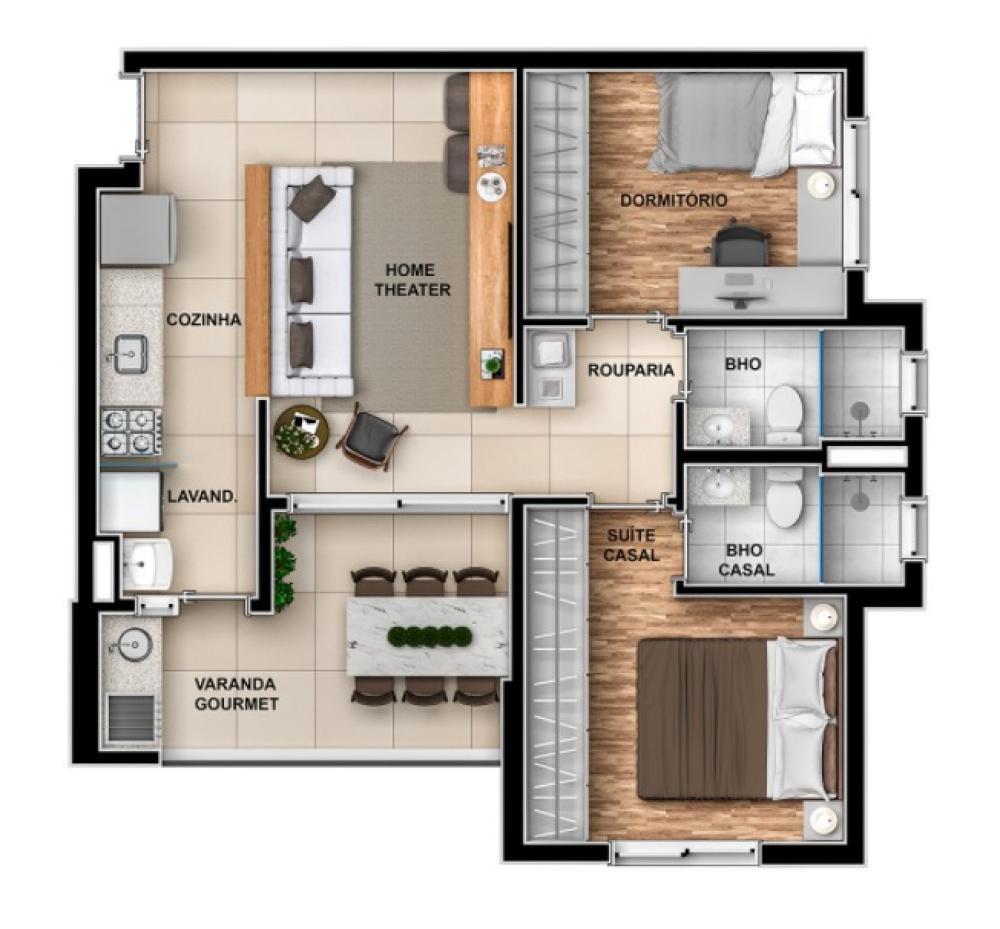 Comprar Apartamento / Padrão em Ribeirão Preto R$ 417.000,00 - Foto 8